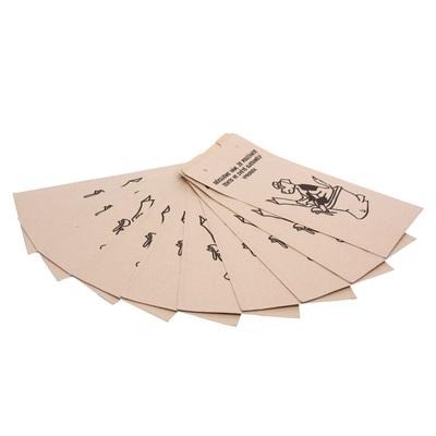 Pungi de hârtie pentru excremente de câine - un set de 25 de bucăți