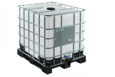 Container IBC UN pe palet plastic 1000L